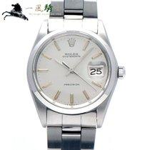Rolex Oyster Precision Stal 34mm Srebrny
