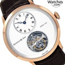 Arnold & Son UTTE Rose gold 42mm White Roman numerals United States of America, Florida, Sunny Isles Beach