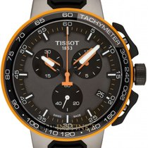 Tissot T-Race Cycling Staal 44.5mm Grijs