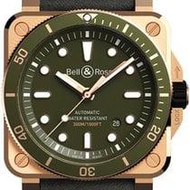 Bell & Ross BR 03 Μπρούντζος 42mm Πράσινο