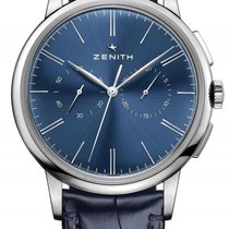 Zenith Elite Chronograph Classic Steel 42mm Blue No numerals United States of America, Florida, Sunny Isles Beach