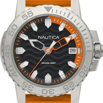 Nautica Steel Quartz NAPKYW002 new
