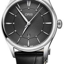 Oris Artelier Date Steel 33mm Grey