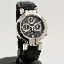 Harry Winston Premier Platinum 38mm Grey Arabic numerals