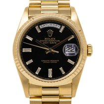 Rolex Day-Date 36 Yellow gold 36mm Black United States of America, Florida, Miami