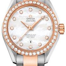 Omega Seamaster Aqua Terra новые Автоподзавод Часы с оригинальной коробкой 23125342055005