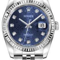 Rolex Steel 36mm Automatic Datejust new United States of America, New York, Airmont