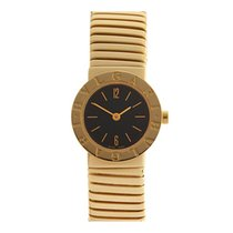 Bulgari Tubogas 18k Yellow Gold Ladies BB2321 - W3702