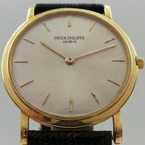 Patek Philippe Calatrava Vintage Manual 18k Yellow Gold