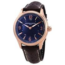 Frederique Constant Men's FC-282AN5B4 Blue Dial Horological...