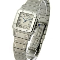 Cartier W20060D6 Cartier Santos Square Large Size in Steel -...