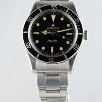 Rolex 1957 Submariner James Bond 6536/1 Tritium Gilt Dial
