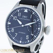 IWC Big Pilot Stahl/Leder Ref.IW5004 Box&Papiere
