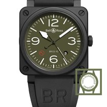 Bell & Ross Military Type Automatic Olive Dial