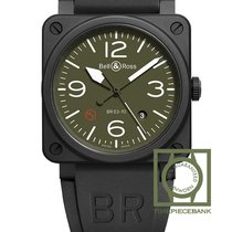 Bell & Ross Ceramic 42mm Automatic BR0392-MIL-CE new