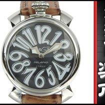 Gaga Milano Gagamirano Manuare Quartz Wristwatch Black Letter...