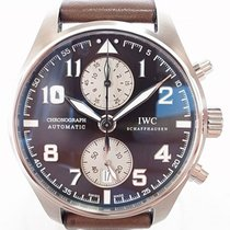 IWC IW387806 Steel 2015 Pilot Spitfire Chronograph 43mm new