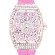 Franck Muller 32mm Automatic new Vanguard Silver