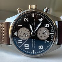 IWC Pilot Spitfire Chronograph Steel 43mm Brown Arabic numerals UAE, Dubai