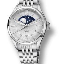 Oris Artelier Date Steel 36mm Silver No numerals