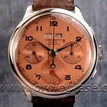 Chronographe Suisse Cie – Dato-compax Bezel-set Triple...