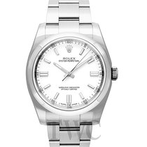 Rolex Oyster Perpetual 36 Staal 36.00mm Wit