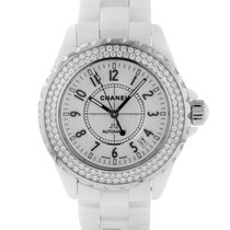 Chanel 38mm Automatic pre-owned J12 White