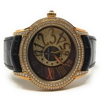 Audemars Piguet Millenary Ladies Yellow gold 39.5mm Brown United States of America, California, Beverly Hills