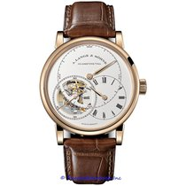 A. Lange & Söhne Richard Lange Rose gold 42mm Silver Roman numerals United States of America, California, Newport Beach