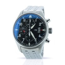 IWC Pilot Chronograph IW377701 - Box & Papers - 12-Month Wty