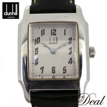 Alfred Dunhill 24mm Manual winding pre-owned Silver