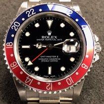 "Rolex Gmt Master II 40mm 16710 Steel Red/blue ""pepsi"" Bezel/bl..."