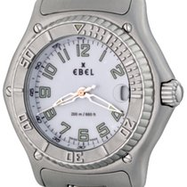 Ebel 37mm Quartz pre-owned Discovery White