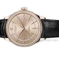 Rolex Cellini Time Roségold 39mm Pink Keine Ziffern