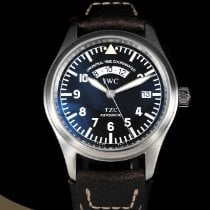 IWC Pilot Spitfire UTC pre-owned 39mm Steel