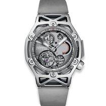 Hublot Techframe Ferrari Tourbillon Chronograph new 2018 Manual winding Chronograph Watch with original box and original papers 408.JW.0123.RX