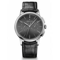 Zenith Elite Chronograph Classic Zeljezo 42mm Crn