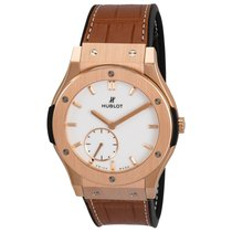 Hublot Classic Fusion Ultra-Thin Rose gold United States of America, New York, New York