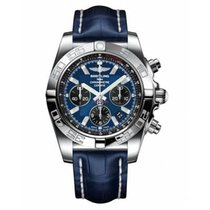 Breitling Chronomat 44 Acero 44mm Azul Sin cifras