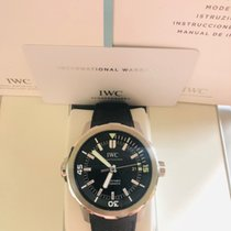 IWC Aquatimer Automatic pre-owned 42mm Black Date Rubber