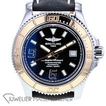 Breitling Superocean 44 pre-owned 43mm Blue Leather