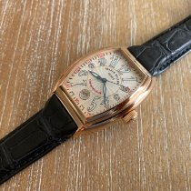 Franck Muller Conquistador Rose gold 48mm Champagne Arabic numerals United States of America, New Jersey, Edgewater