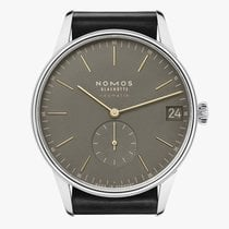 NOMOS Orion Neomatik Steel 40.5mm Green No numerals
