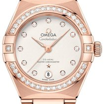 Omega Constellation 131.55.29.20.52.001 New Rose gold 29mm Automatic