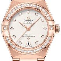 Omega Constellation Pозовое золото 29mm Cеребро