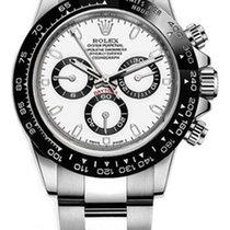 Rolex Daytona Steel 40mm White No numerals United States of America, New York, NEW YORK