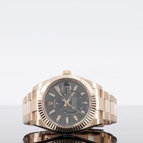 Rolex new Automatic 42mm Rose gold Sapphire Glass