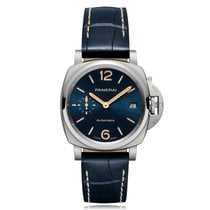 Panerai Luminor Due Titanium 38mm Blue United States of America, Florida, Miami