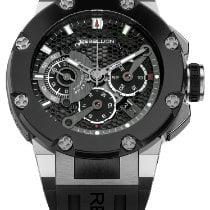 Rebellion Steel 48mm Automatic Predator Chrono Sectorial Second new