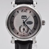 Martin Braun Steel Automatic Silver Arabic numerals 39.4mm pre-owned